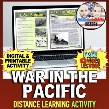 World War II: The Pacific Theatre Activity