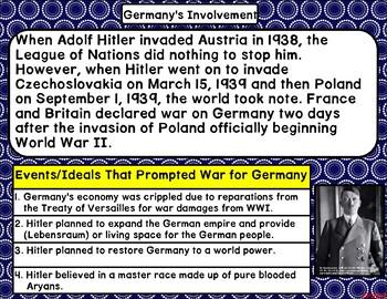 World War 2 Tri-fold