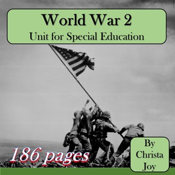 World War 2 Unit for Special Education