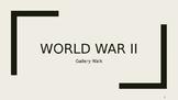 World War 2 WWII Gallery Walk