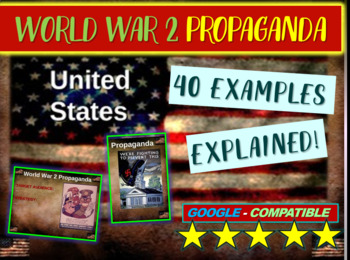 World war 2 propaganda teaching resources teachers pay teachers world war 2 wwii us propaganda 40 examples 6 themes of fandeluxe Choice Image