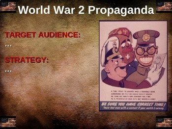 World War 2 (WWII) US propaganda: 40 examples (6 themes) of American propaganda