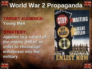World War 2 (WWII) propaganda: 10 examples from 5 differen