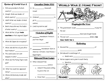 World War 2: War at Home