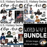 World War 2 World War II Clip Art Bundle