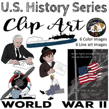 World War 2 World War II Clip Art Set 1