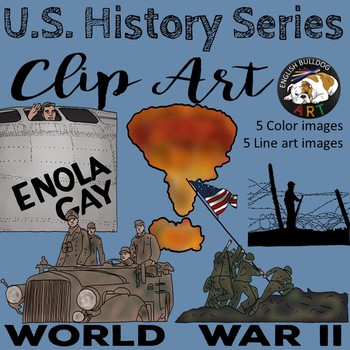 World War 2 World War II Clip Art Set 5