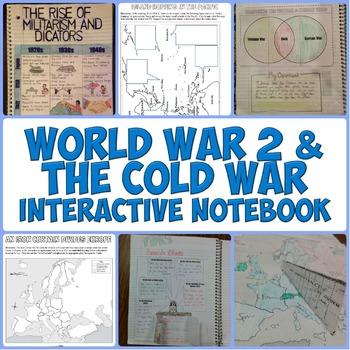 World War 2 and the Cold War Interactive Notebook