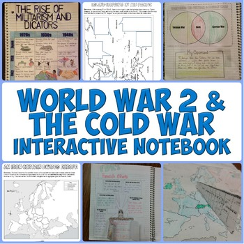 World War 2 and the Cold War Interactive Notebook