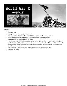 World War 2 -opoly (a World War 2 Game)