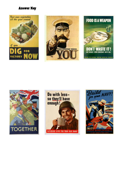 World War 2 posters