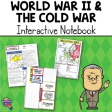 World War 2 & the Cold War U.S. History Interactive Notebook Unit
