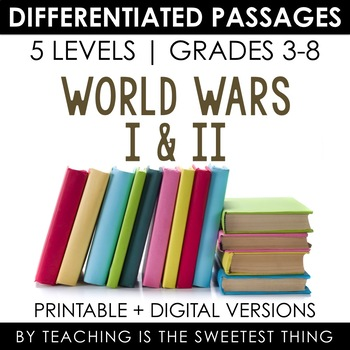 World War I & II Passages BUNDLE