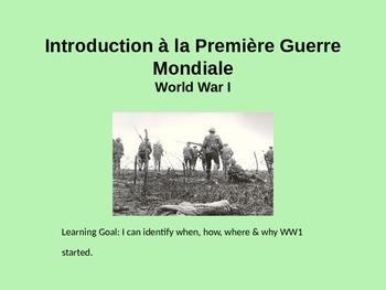 WWI Première Guerre Mondiale