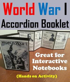 World War 1 Activity Foldable