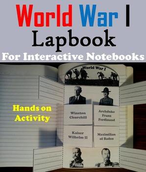 World War 1 Activity Foldable (WWI)
