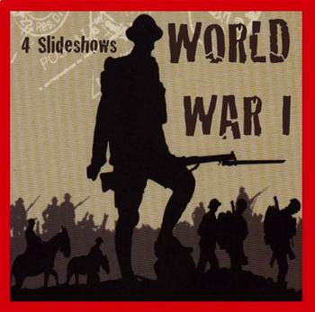 World War I - 4 Slideshows