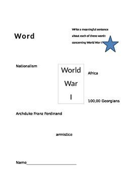 World War I Activator