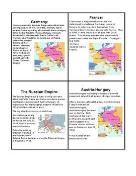 World War I Alliance Simulation