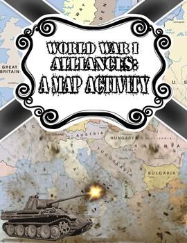 World War I Alliances: A Map Activity