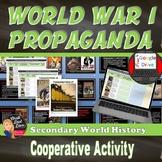World War I Analyzing Propaganda Posters (World History)