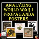 World War I   Analyzing Propaganda Posters   DISTANCE LEARNING