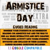 World War I - Armistice Day Reading!