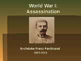 World War I - Assassination of Archduke Franz Ferdinand