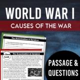 World War I: Assassination of Archduke Franz Ferdinand (Causes of WWI)