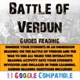 World War I - Battle of Verdun Reading!