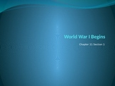 World War I Beginning