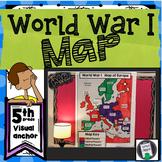 World War I Bulletin Board Map