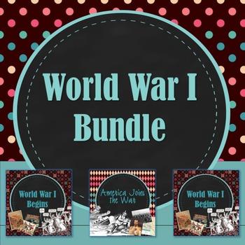 World War I PowerPoint Bundle
