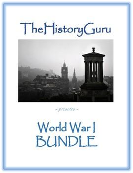 Full World War I (WW1) Unit BUNDLE