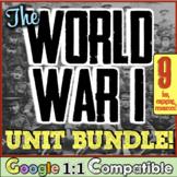 World War I Bundle! World War I Causes, Trench Warfare, Versailles, & More!