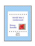 World War I Centennial ~ Bonus Bundle