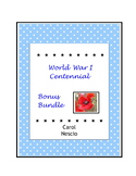 World War I Centennial ~ Bonus Bundle