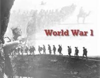 World War I Choice Board