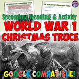 World War I Christmas Truce Article and Worksheet