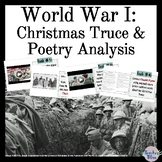 """World War I: Christmas Truce & Poetry Analysis (including """"In Flanders Field"""")"""