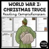 World War I Christmas Truce article, poem, questions