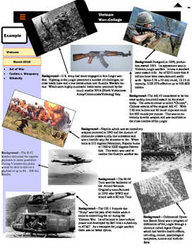 World War I Collage Project