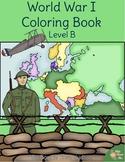 World War I Coloring Book-Level B