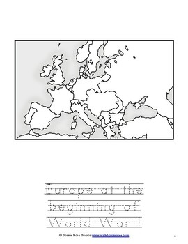World War I Coloring Book-Level A
