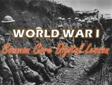 World War I Common Core Digital Lesson