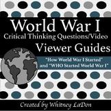 World War I Crash Course Viewer Guides