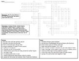World War I Crossword Puzzle Printable