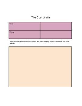 World War I - Digital Interactive Notebook