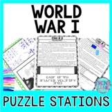 World War I PUZZLE STATIONS: Woodrow Wilson, Treaty of Ver