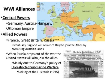 World War I: The Industrial Powers wage Total War